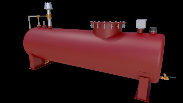 tanque de combustível convencional 750 litros